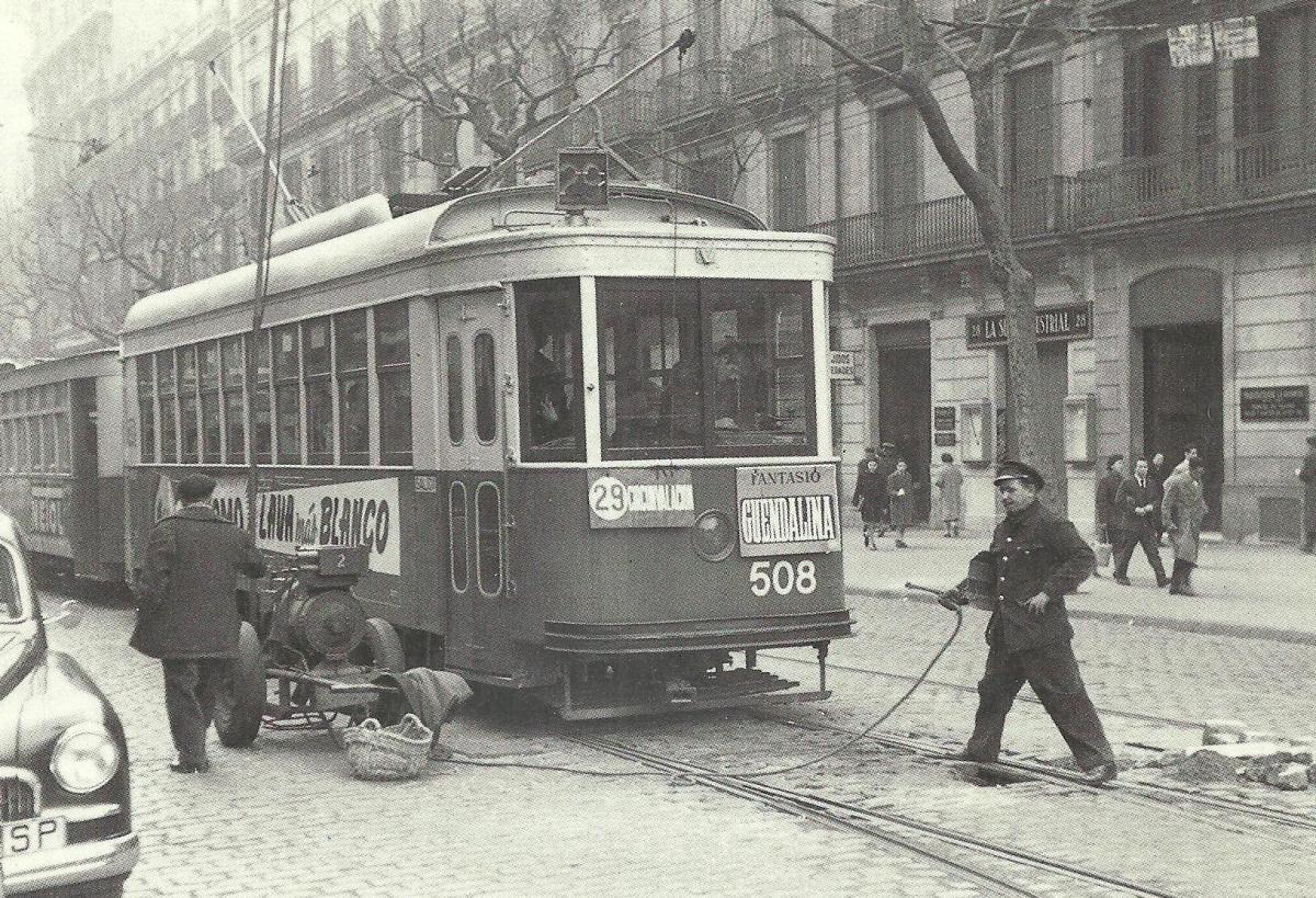 La Barcelona de las vías olvidadas