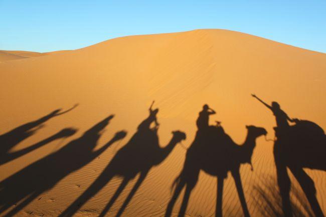 Viajeros en Marruecos