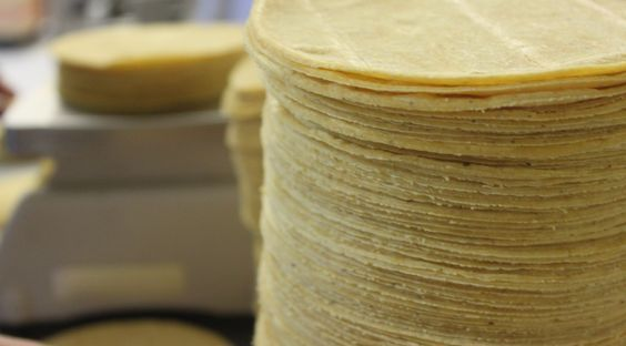 Tortillas mexicana de maíz