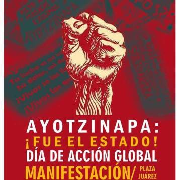 20N Acción global por Ayotzinapa