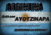 Argentina con Ayotzinapa