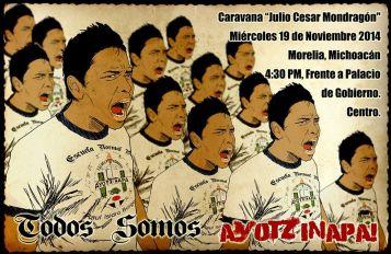 caravana-normalistas-ayotzinapa-morelia-convocatoria