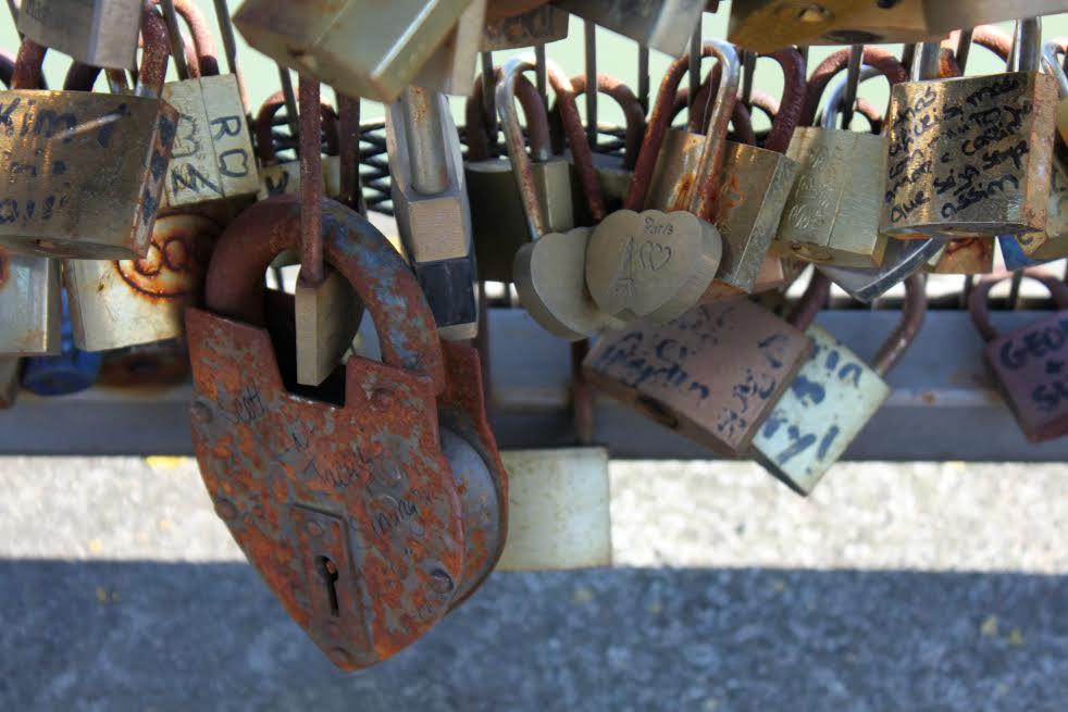 Candados del amor-París  |ArleneBayliss