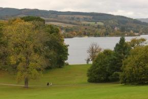 Me acuerdo de aquel castillo de Escocia, con la vista al loch. Fotografía: Arlene Bayliss
