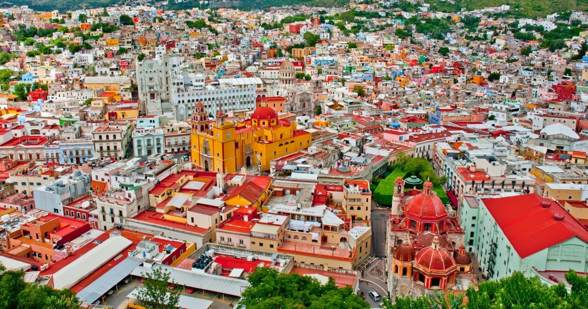 La joya colonial de México: Guanajuato