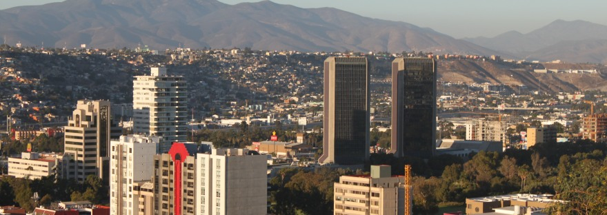 Vistas de Tijuana, Baja California, México