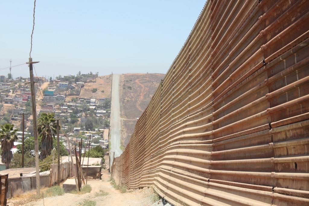 Frontera de Tijuana, México - Estados Unidos