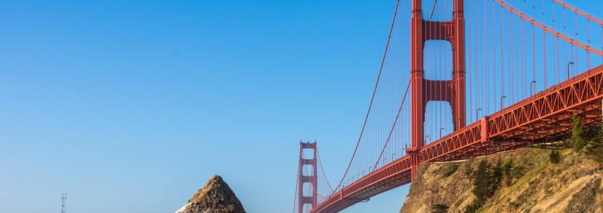 Pedalear el Golden Gate Bridge